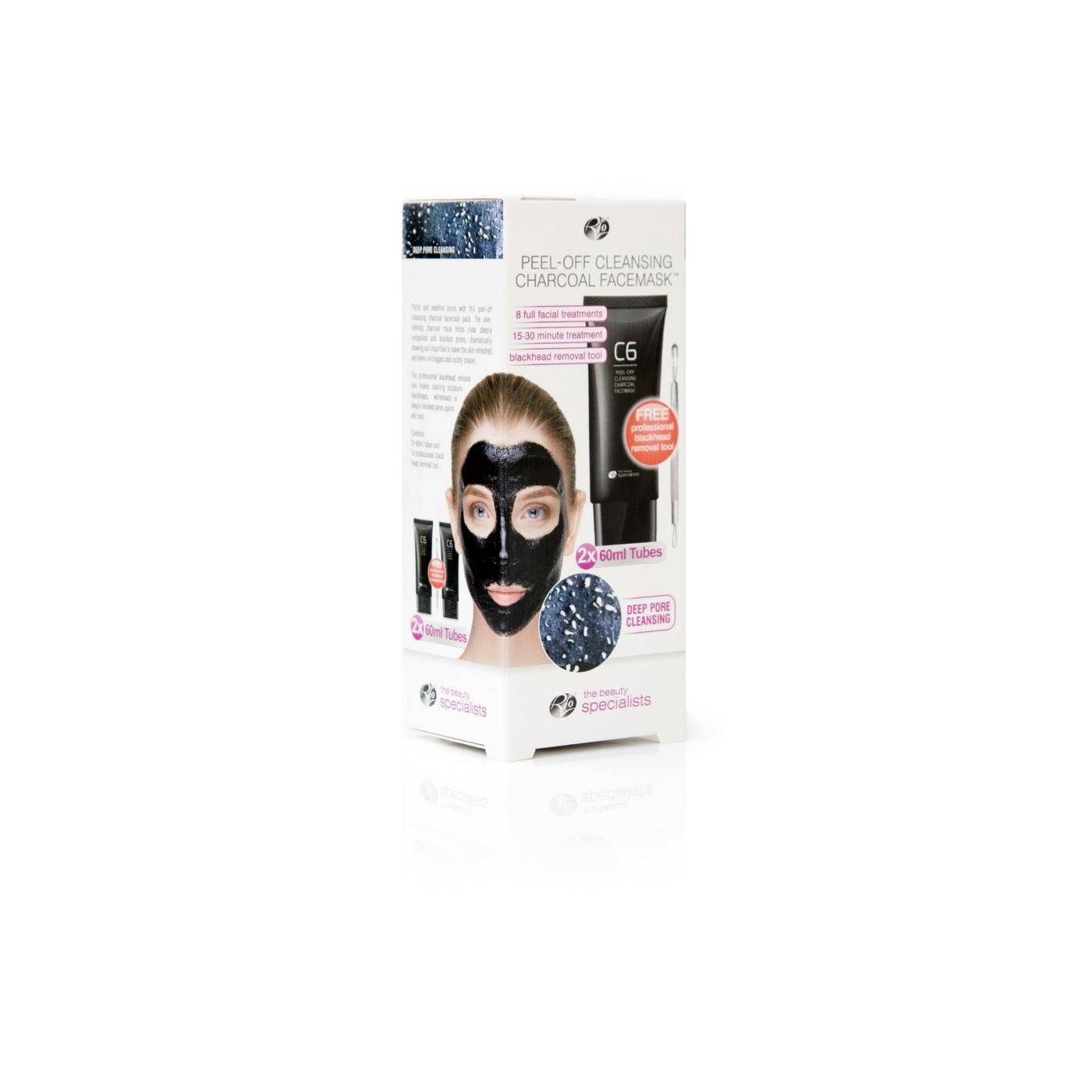 Μάσκα προσώπου με ενεργό άνθρακα